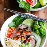 Vietnamese Beef Pho Noodle Soup - learn how to make this traditional beef broth scented with star anise, cloves and cinnamon