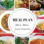 Weekly Meal Plan Dec 3 - Dec 9 -breakfast, lunch and dinner recipes and ideas to help get healthy meals on your family