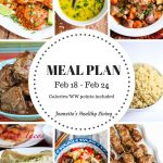 Weekly Meal Plan Feb 18