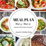 Weekly Meal Plan March 4