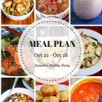Weekly Healthy Meal Plan Sept 24 - Sept 30 - Weekly Healthy Meal Plan Oct 22 - Oct 28 - breakfast, lunch and dinner recipes and ideas to help get healthy meals on your family