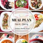 Weekly Healthy Meal Plan Sept 24 - Sept 30 - Weekly Healthy Meal Plan Oct 8 - Oct 14 - breakfast, lunch and dinner recipes and ideas to help get healthy meals on your family