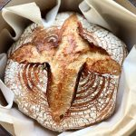 baked sourdough bread