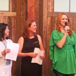 Jaden Hair, Elise Bauer, and Ree Drummond at the BlogHer Food 2012 Closing Party