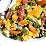 Quinoa Citrus Mango Avocado Black Bean Salad