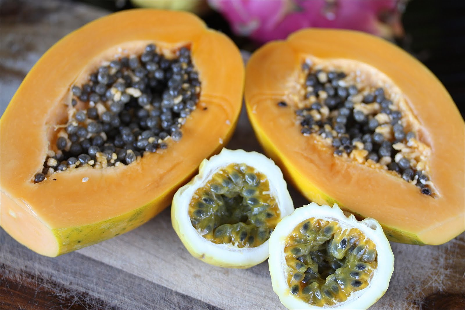 Simply Tropical Fruits - Papaya and Passion Fruit - Jeanette's
