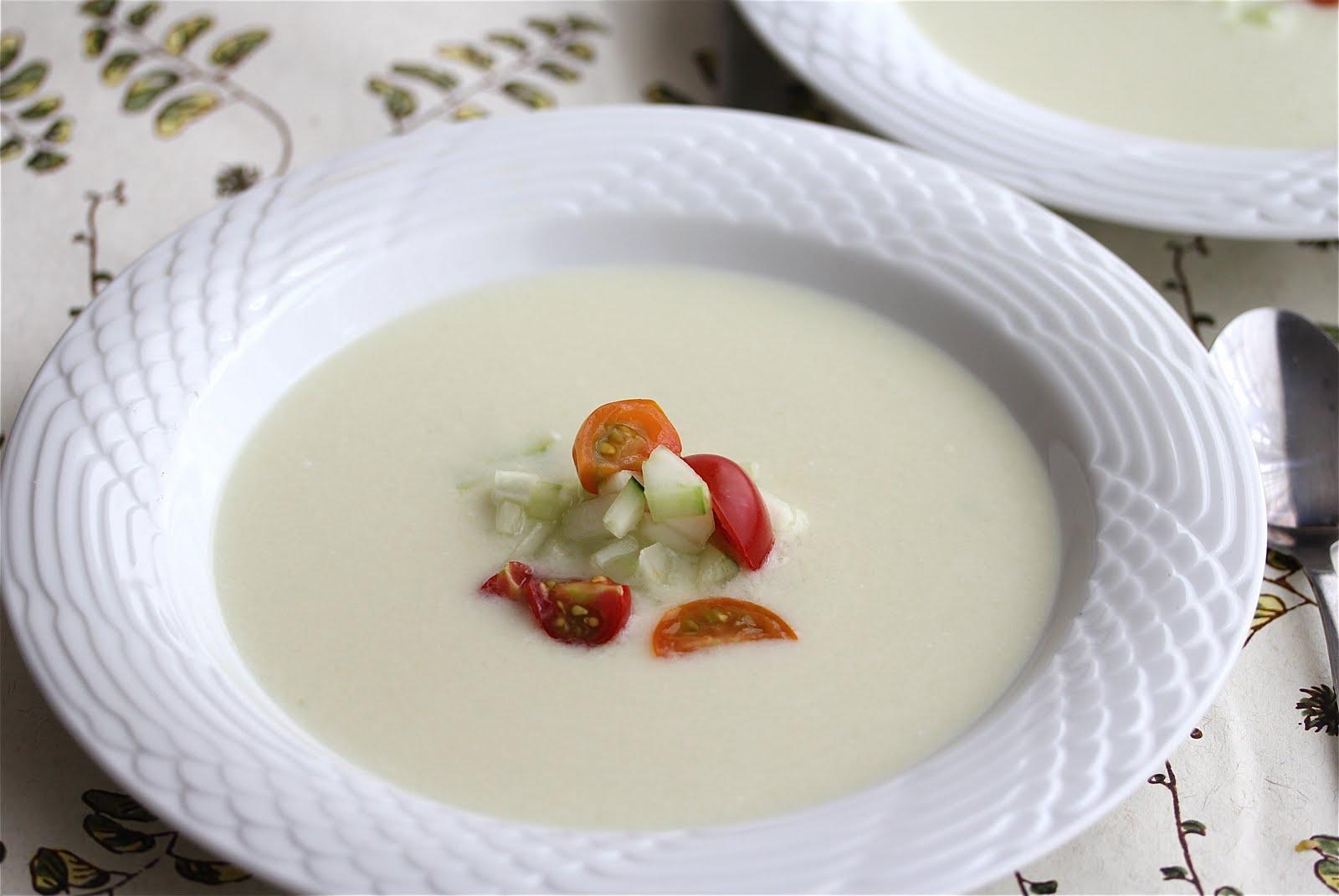 Madhur Jaffrey's Cold Cucumber Soup