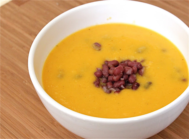 Thai Curried Roasted Butternut Squash Soup