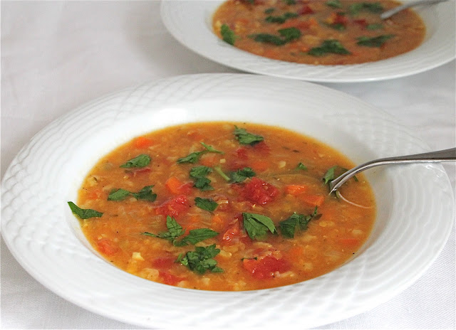 Easy Lentil Vegetable Soup